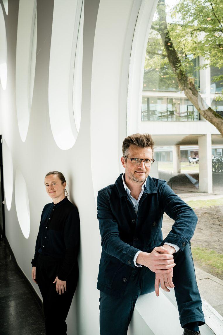 Storme: 'Ik denk dat we één van de weinige kunstinstellingen in ons land en misschien zelfs in Europa zijn waar we kunstenaars echt deel laten uitmaken van het artistiek team.' Beeld Wouter Van Vooren