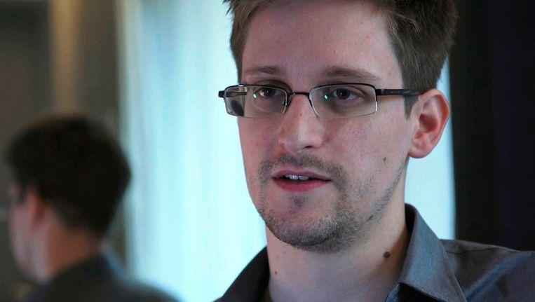 Edward Snowden, de klokkenluider van het PRISM-schandaal. Beeld REUTERS