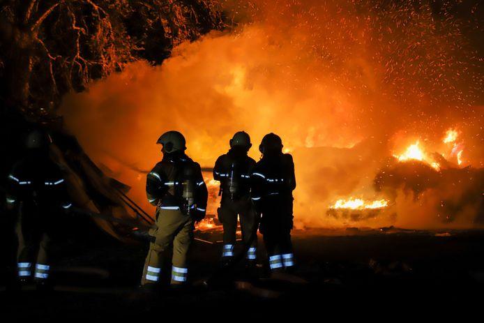 Brand in buitengebied Veghel
