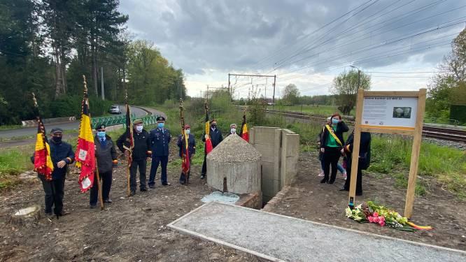 Londerzeel herdenkt einde WO II: infobord bij bunkertje ingehuldigd