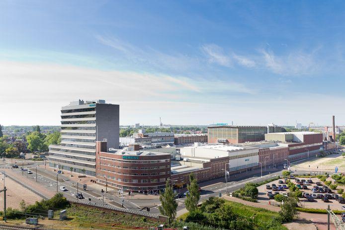 Het complex van Siemens in Hengelo.