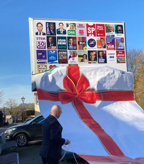 Meierijstad start verkiezingscampagne met onthulling digitale borden