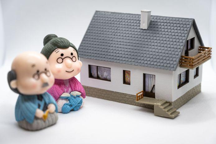 55-plussers hebben in veel gevallen al lang een eigen woning en kunnen de overwaarde die ze hebben opgebouwd ten gelde maken.