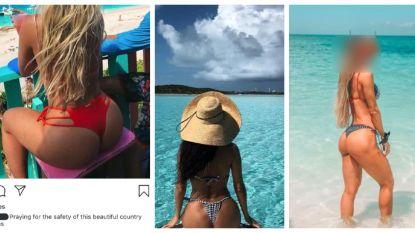 Instagrammers zwaar bekritiseerd om steunberichten aan verwoeste Bahama's… in bikini