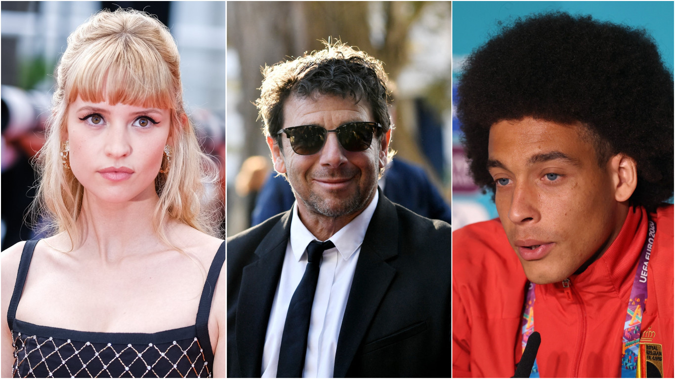 Angèle - Patrick Bruel - Axel Witsel