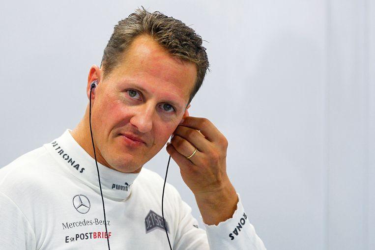 Michael Schumacher in 2012.