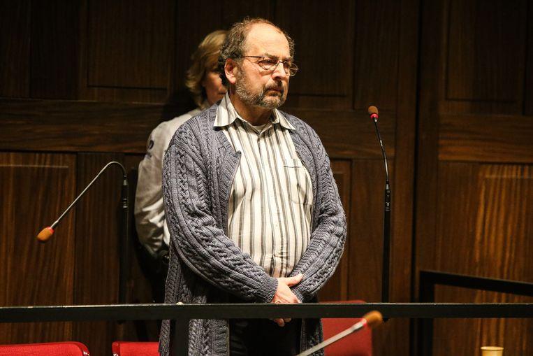 Diaken des doods Ivo Poppe voor het Assisenhof van Brugge veroordeeld voor moord.