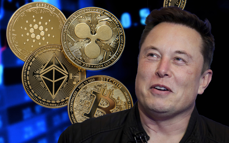 Tesla-baas Elon Musk stuurde de koers van bitcoin en dogecoin de voorbije weken hoger. Nu blijkt dat zijn bedrijf er 1,5 miljard in investeerde. Beeld AP