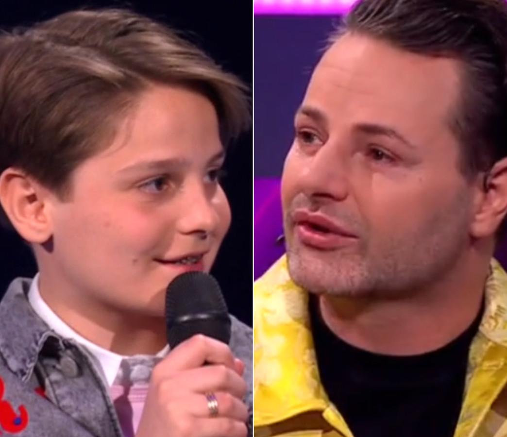 Boele (12) en Fred van Leer.