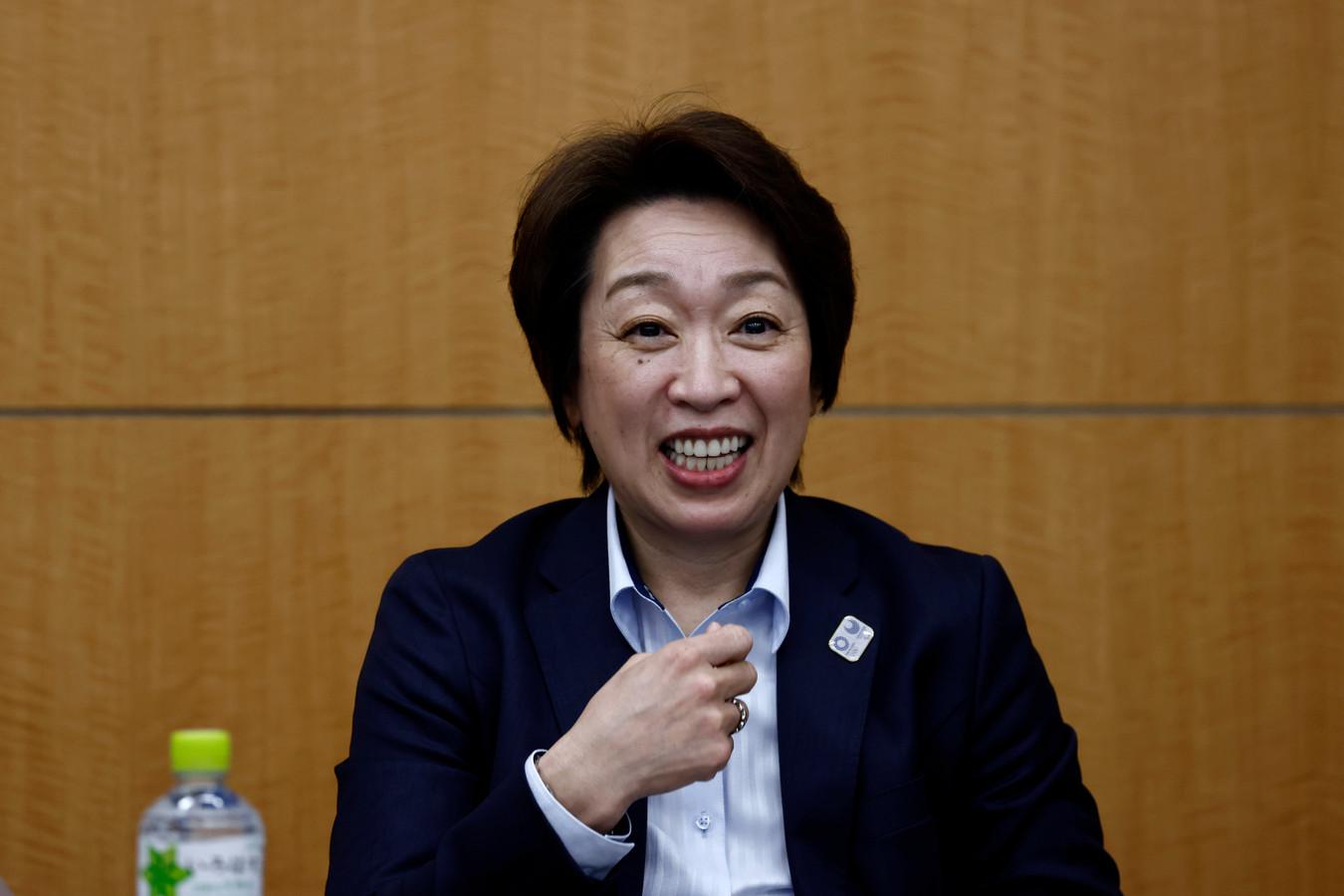 Seiko Hashimoto, voorzitter van het organisatiecomité van de Olympische Spelen van Tokio.