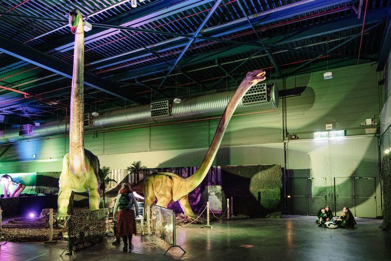 Worls of Dinos in de Utrechtse Jaarbeurs Beeld Lars van den Brink,