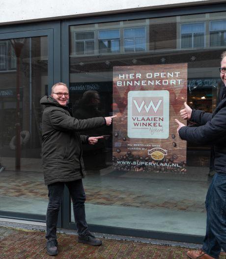 2,5 maand na grote brand openen Marco en Richard nieuwe vlaaienwinkel: 'We kregen zó veel hartverwarmende reacties'