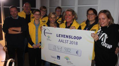 Eindbedrag Levensloop 2018 is bekend: 241.982 euro