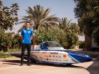 Ruben (22) legt binnenkort 2.500 kilometer af door Marokkaanse Sahara met zonnewagen