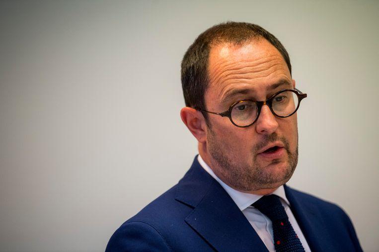 'Van Quickenborne is wellicht de minister met het hoogste populistische gehalte. Hij weet wat de mensen graag horen.' Beeld BELGA