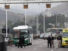 Le preneur d'otages dans un bus à Rio abattu par la police