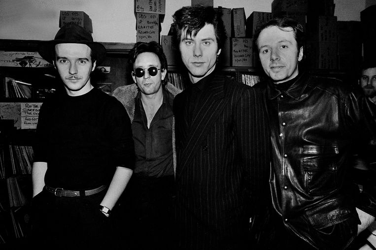 Ultravox in 1983. Beeld Getty