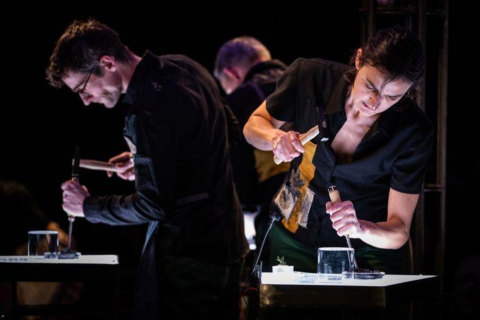 De voorstelling Balsam van Laika.