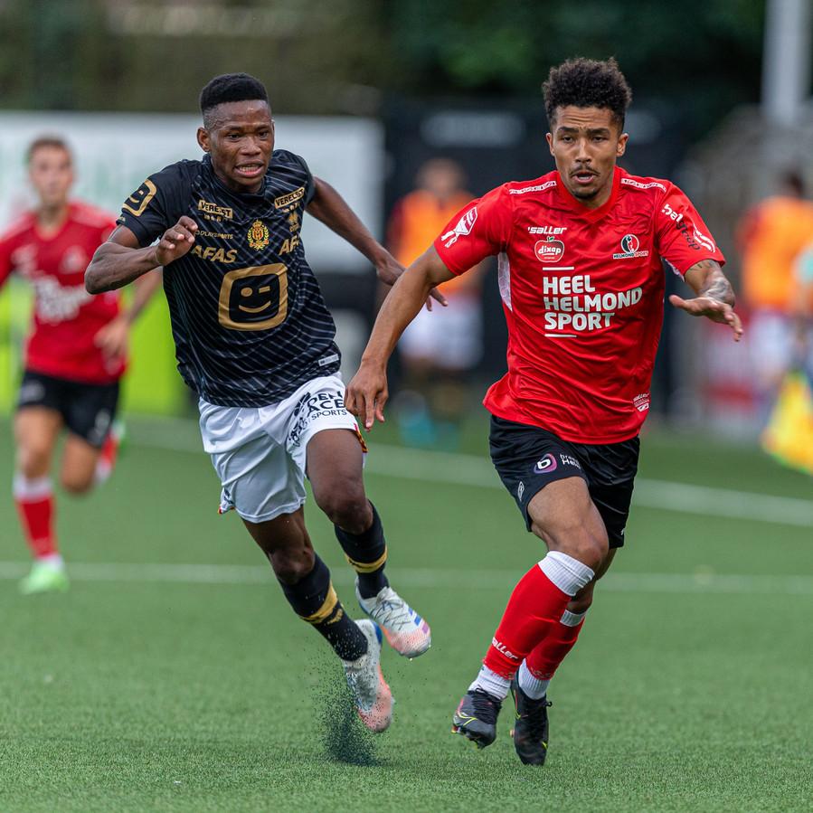 Keyennu Lont liet een aantal veelbelovende acties zijn tijdens zijn invalbeurt tegen KV Mechelen onder 21.
