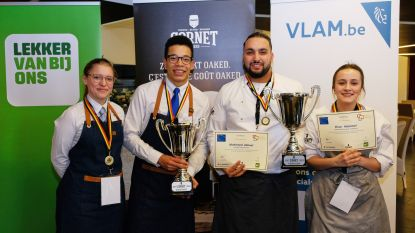 Leerlingen van VTI Spijker en Talentschool Turnhout slepen gouden medaille in de wacht