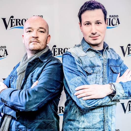 Veronica-dj's Alex en Martijn.
