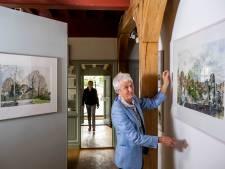 Geervliet opent museumseizoen met oeuvre-tentoonstelling Arie Meuldijk: 'Ook aquarellen van afgebroken dorp'