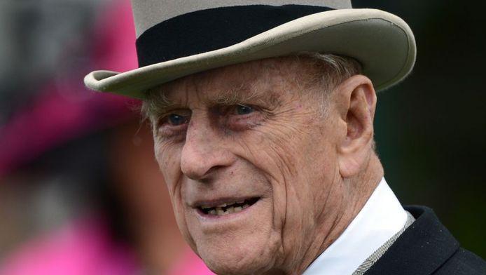 De Britse prins Philip ligt in het ziekenhuis met een blaasontsteking.