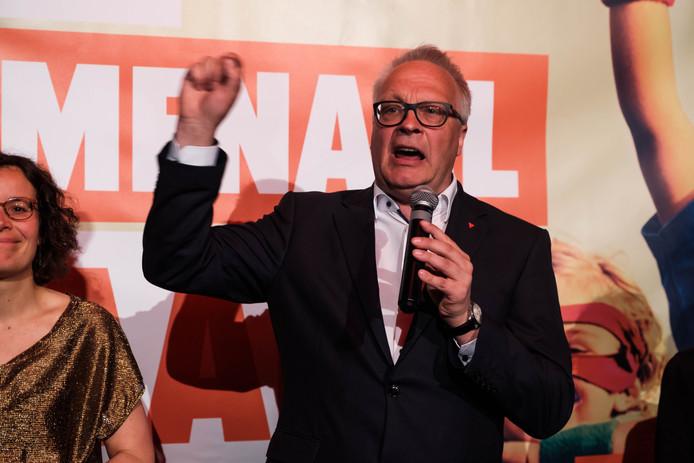 Peter Mertens, le président du PTB.
