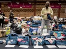 Le country-hall de Liège est débordé de dons après les intempéries
