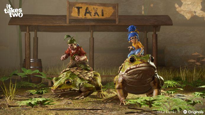 Achter het koddige uiterlijk van 'It Takes Two' zit een game die over een echtscheiding gaat.