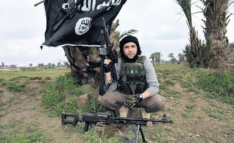 Oussema als djihadist Beeld