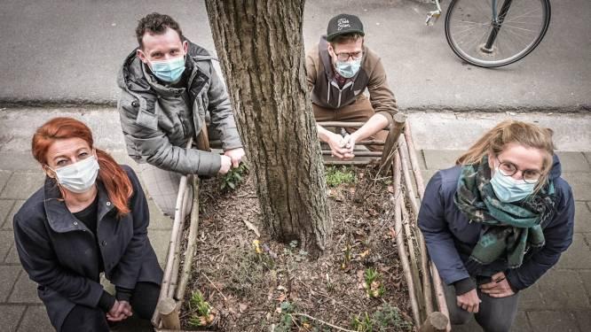 """Kortrijk roept op om leuke straattuintjes te maken van saaie plantvakken: """"Je vrolijkt er levens mee op"""""""