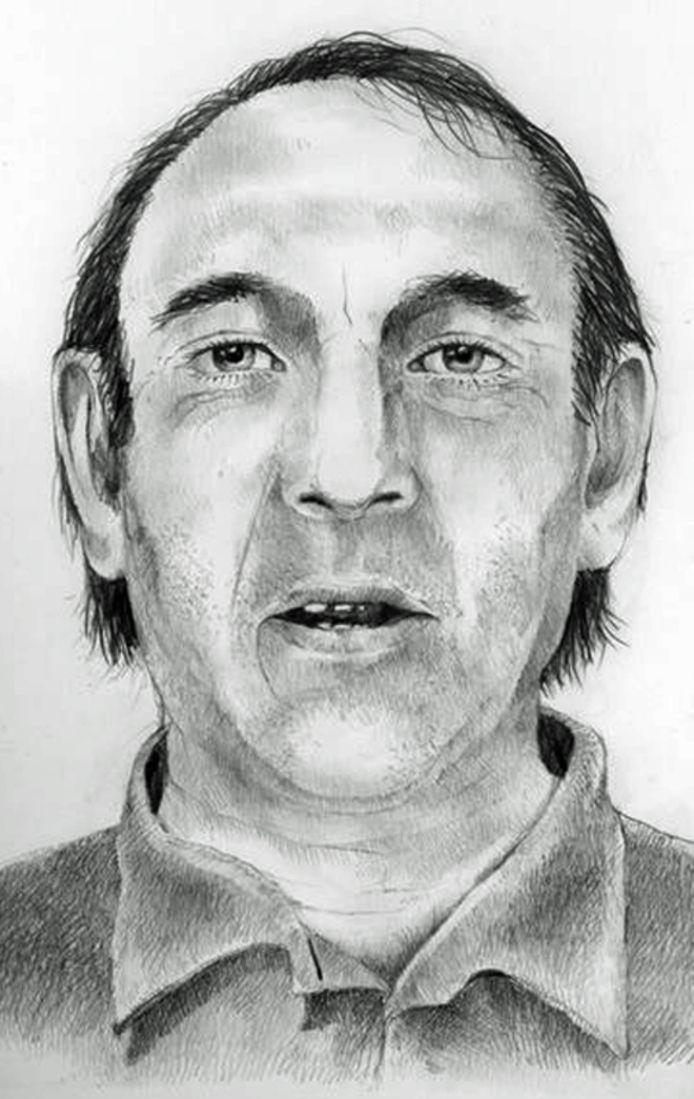 De politie is op zoek naar de identiteit van deze man.