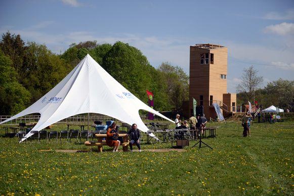 Opening van het eerste multimovepad aan onthaalzone De Torenvalk.