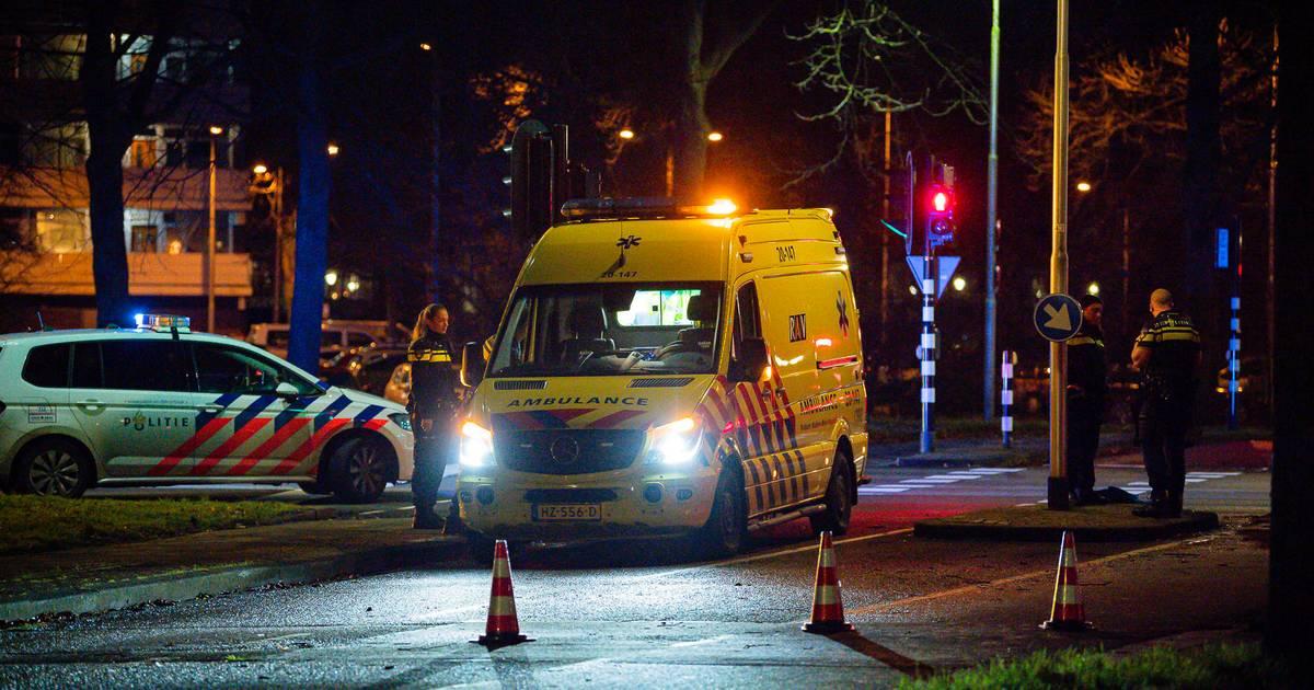 Fietser gewond bij aanrijding in Tilburg.