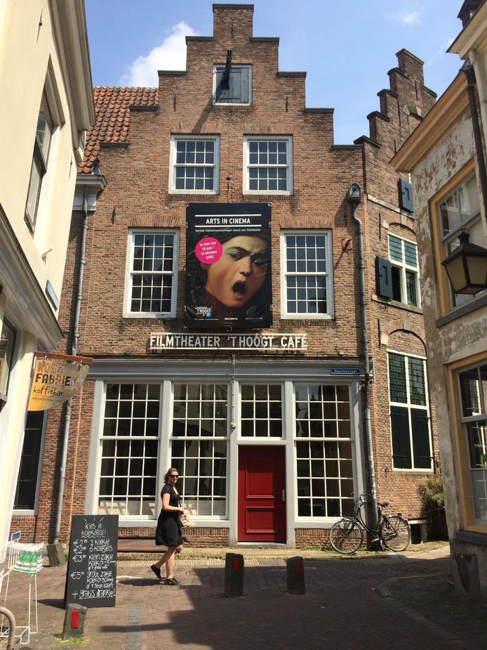 Jos Stelling wil Slachtstraat 5 in de Utrechtse binnenstad, waar voormalig filmtheater 't Hoogt zat, ombouwen tot nieuwe bioscoop.