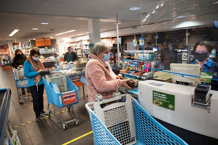 Een supermarkt is een belangrijke voorziening in een dorp.