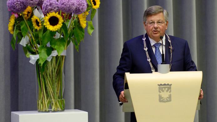 De Arnhemse burgemeester Herman Kaiser.
