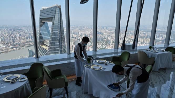 IN BEELD. Hoogste hotel ter wereld opent de deuren in Shanghai