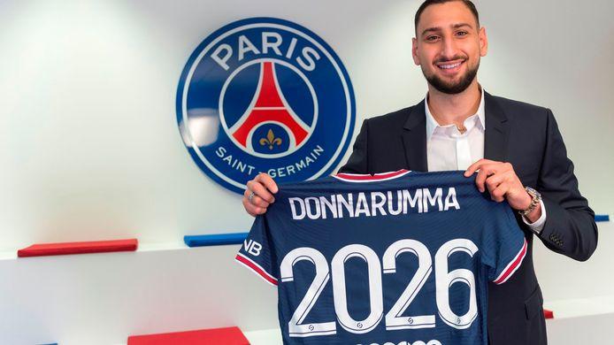 Donnarumma tekende een contract tot 2026 bij PSG