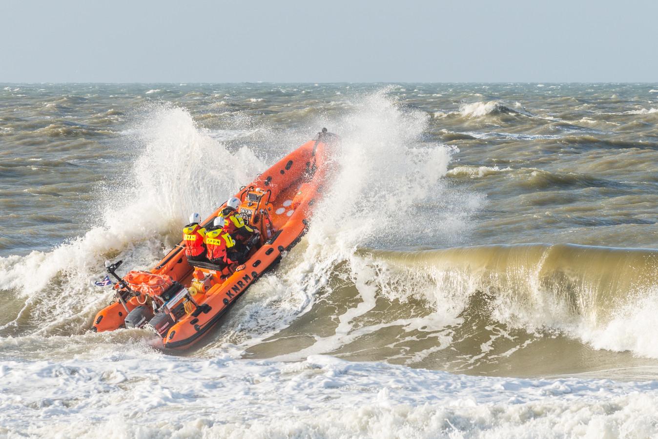 Een Nederlandse reddingsboot.