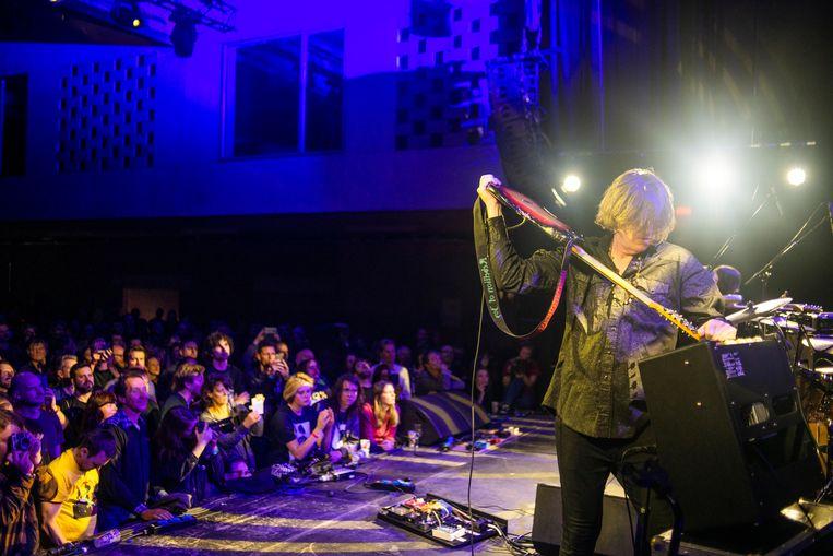 Thurston Moore Group op Sonic City: mondjesmaat rockend, veelal tegenwringend Beeld Alex Vanhee