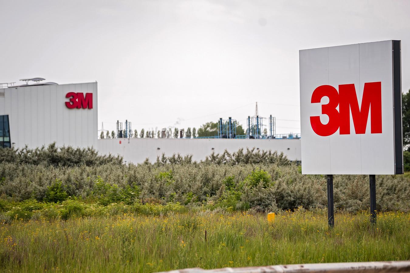 De 3M-fabriek in Zwijndrecht.