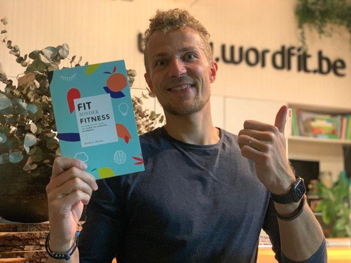 Fitheidscoach Frédéric Heylen lanceerde zijn eerste boek dat hij nu gratis aanbiedt