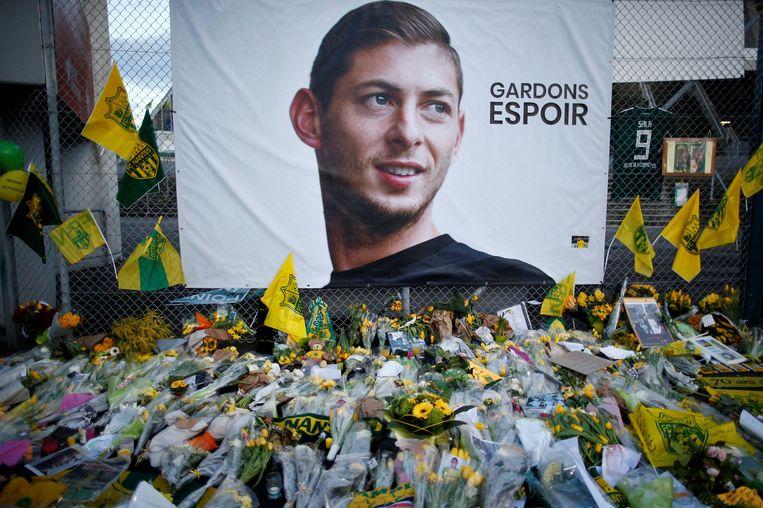 Het lichaam van de vermiste voetballer Emiliano Sala is geborgen. Beeld REUTERS