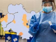 KAART | Toename van coronagevallen in Salland, Elburg en Lelystad; Brummen blijft slechtste jongetje van de klas