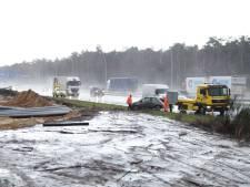 Auto raakt van de weg in Kaatsheuvel