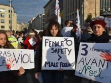 10.000 personnes ont marché à Bruxelles contre les violences faites aux femmes