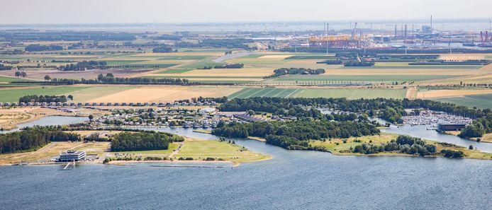 Waterpark Veerse Meer bij Arnemuiden.