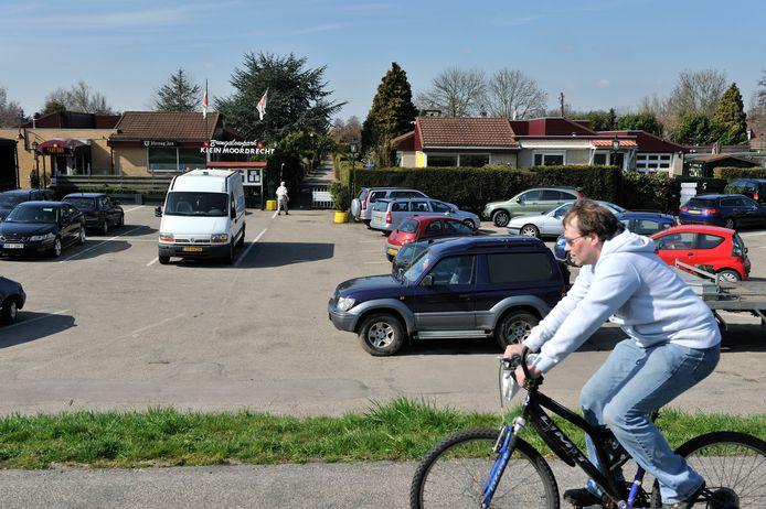 Foto ter illustratie. Bungalowpark Klein Moordrecht.